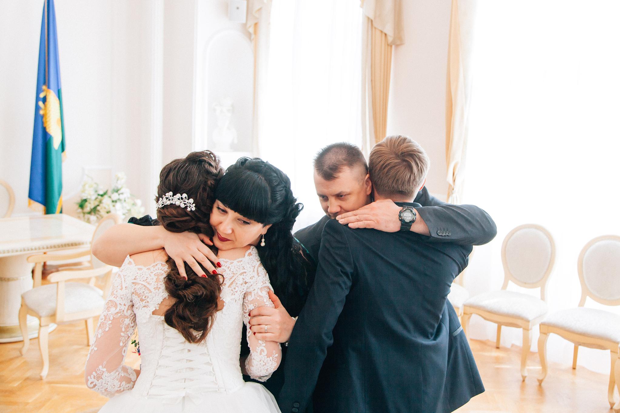 зал поздравлений во Дворце бракосочетания в Тамбове