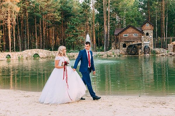 места для прогулок на свадьбе