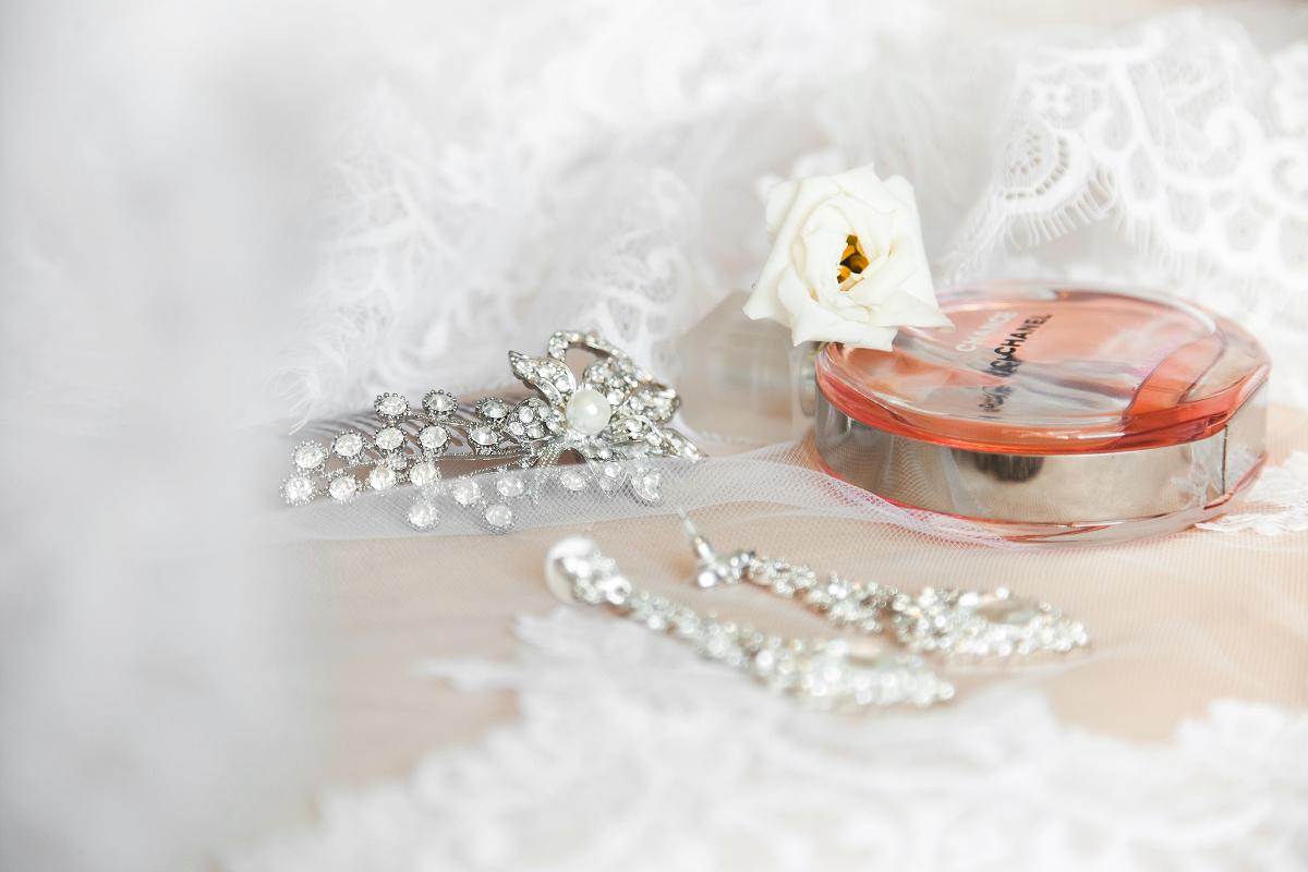 Свадебный аксессуар невесты