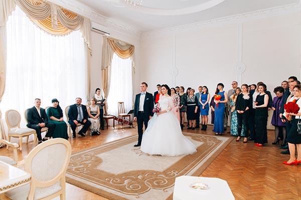 Регистрация брака во Дворце бракосочетания в Тамбове на Интернациональной