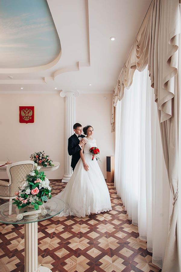 Красивый зал. ЗАГС Мичуринск
