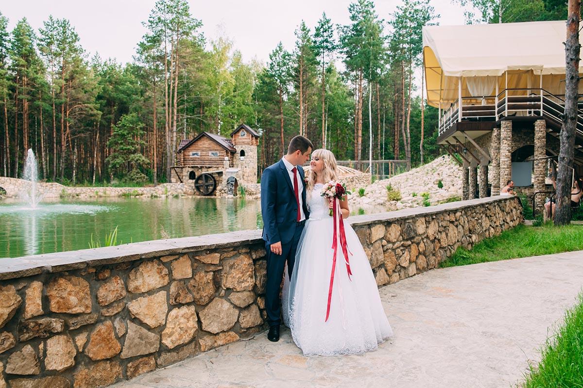 свадебная фотосессия на природе