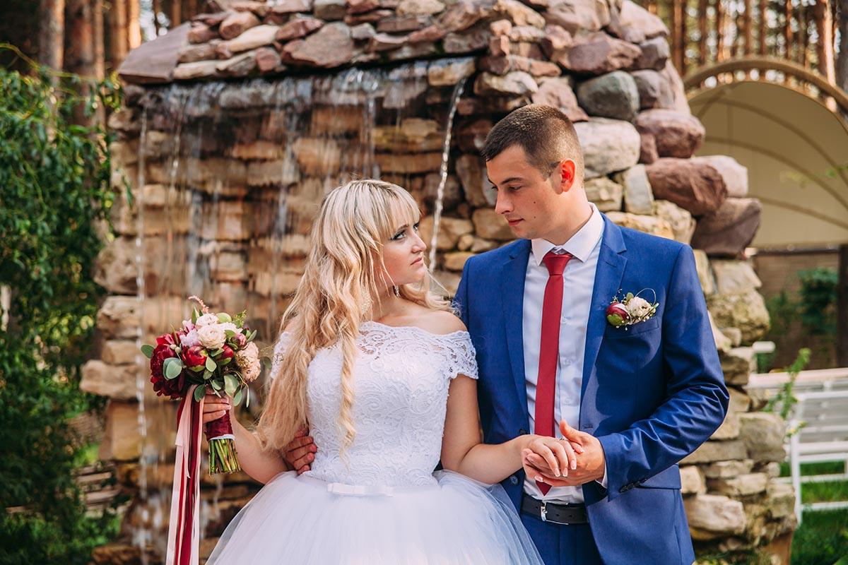 свадьба фото на природе