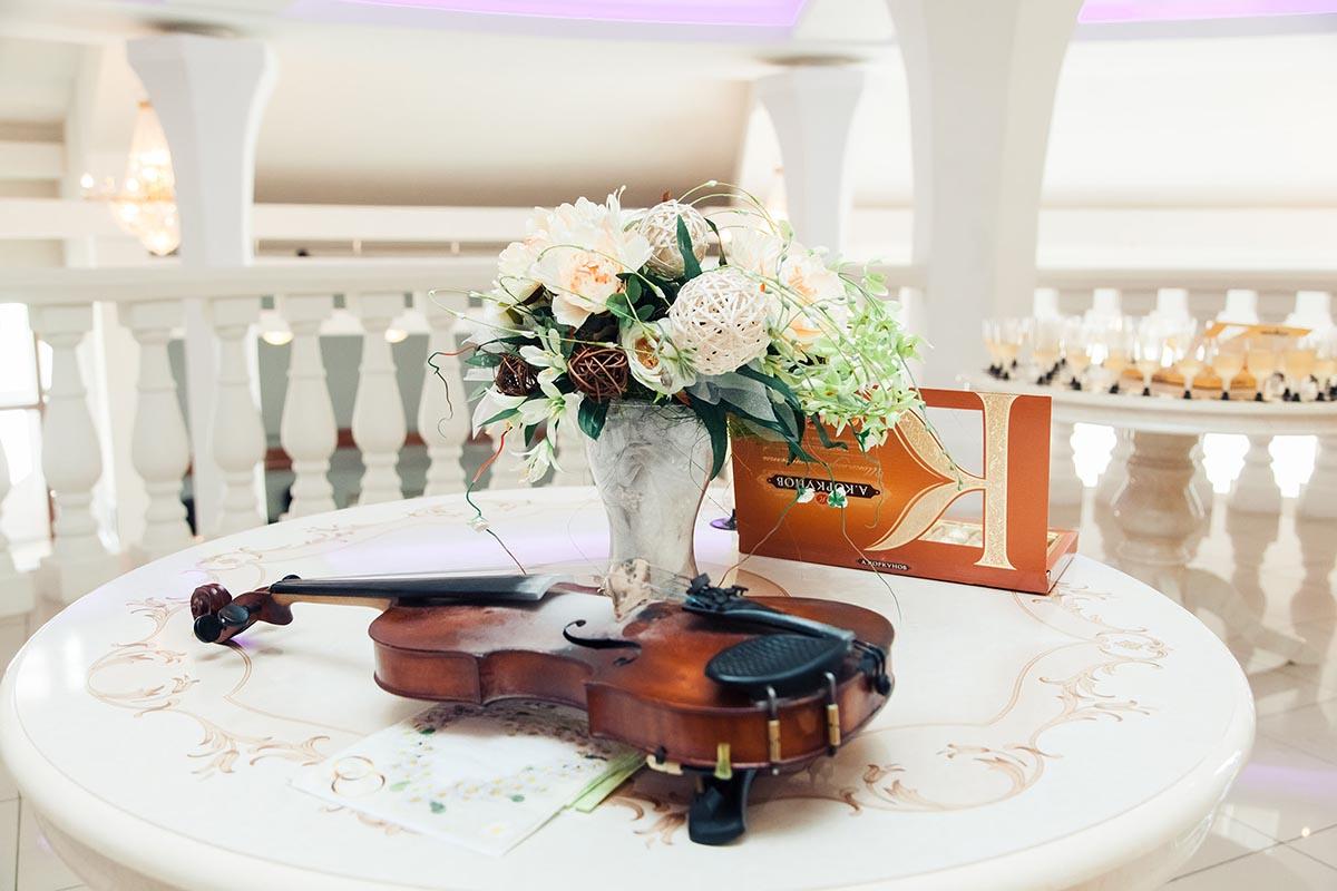 свадебное оформление в ЗАГСе