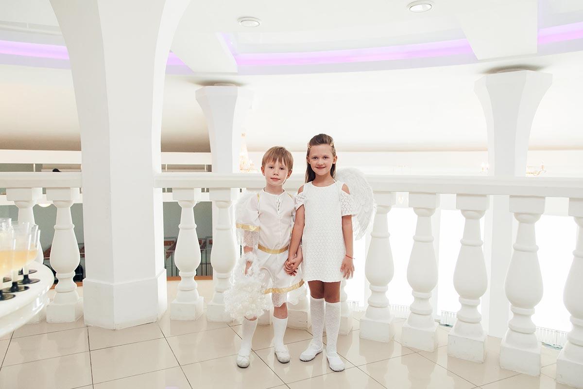 фото дети на балконе