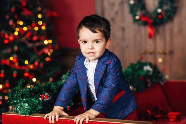 Детская фотосессия Рождество