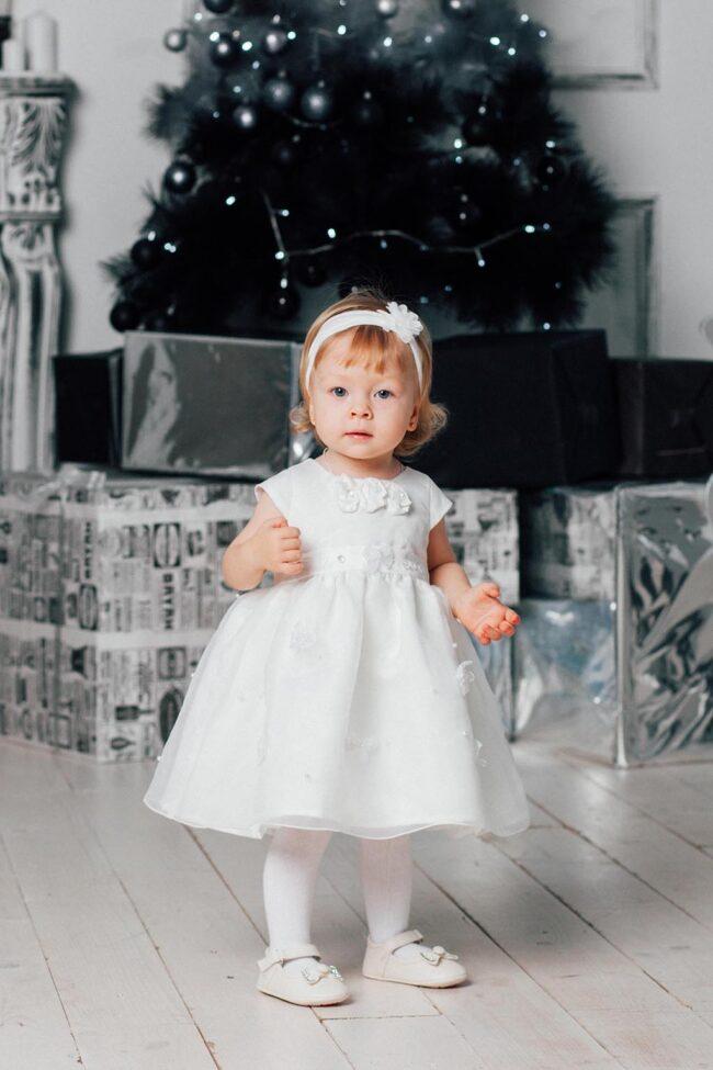 Новогодние фото с детьми в студии