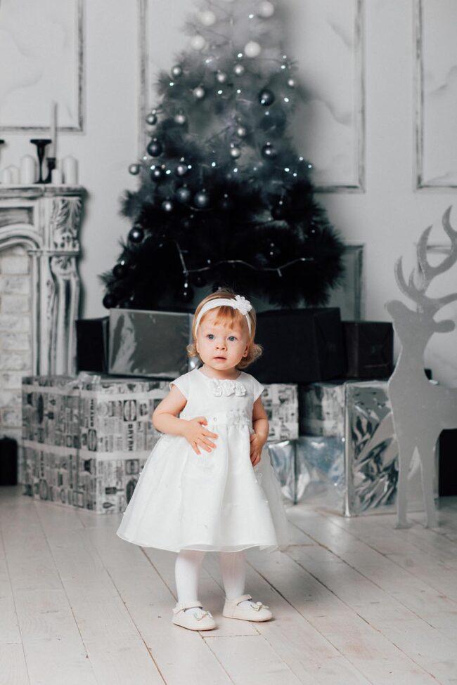 Новогодние фото малышей