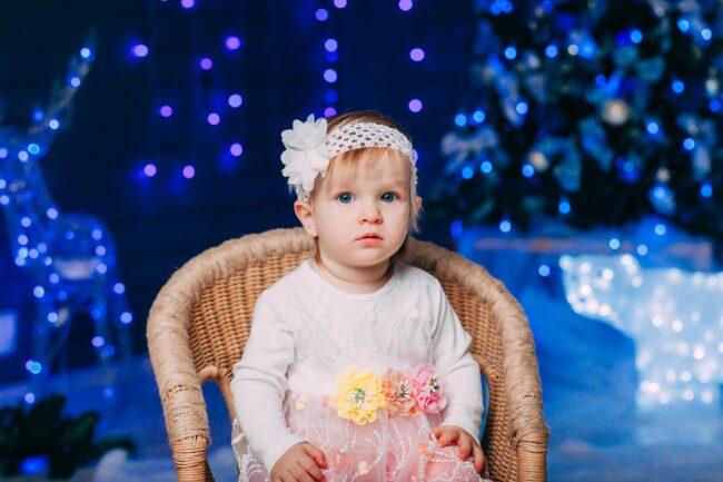 Детская Новогодняя фотосессия идеи