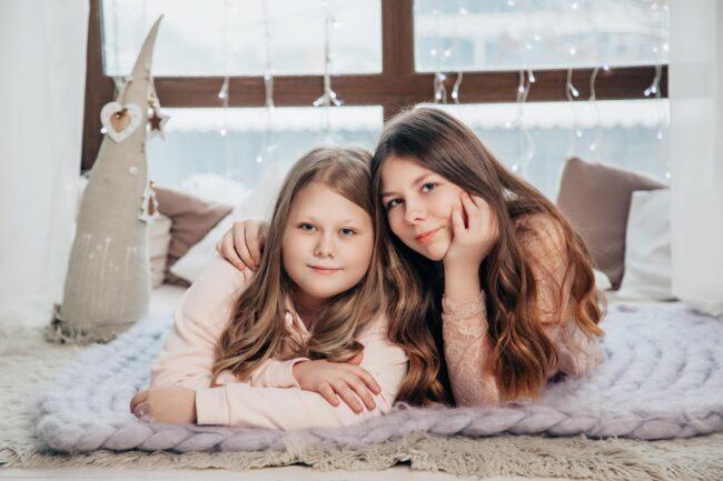 Новогодняя фотосессия девочки