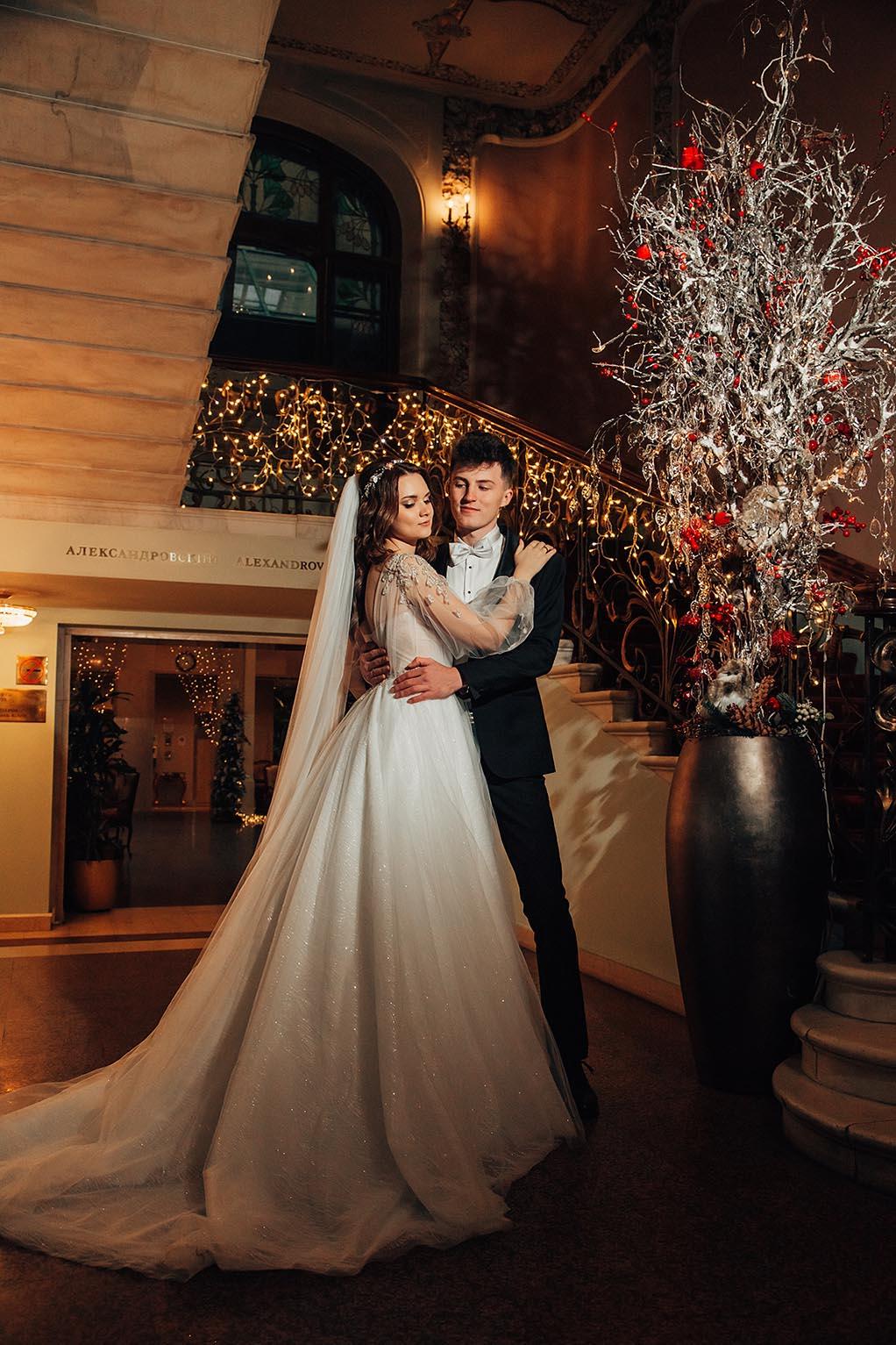 свадебная фотосессия в отеле Националь Москва