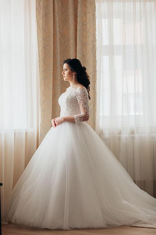 невеста утром в ожидании суженного