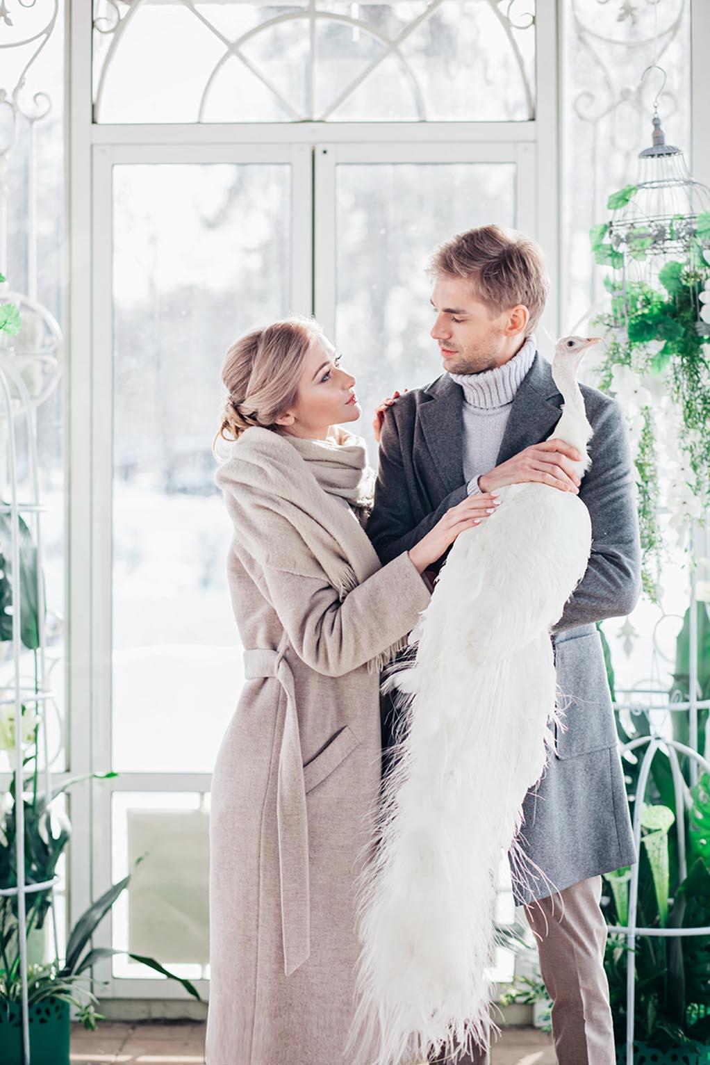 Поселок Довиль Свадебная фотосессия