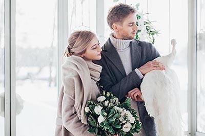 Фотосессия свадьбы. Поселок Довиль