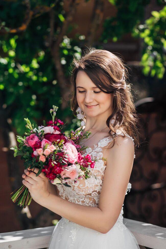 свадьба в загородном доме