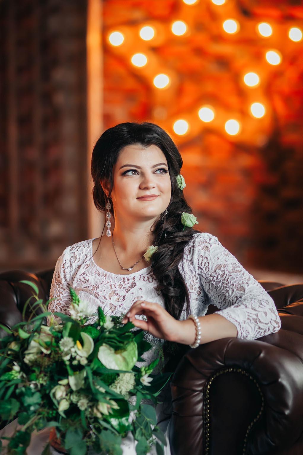 фотосессия свадьбы в студии