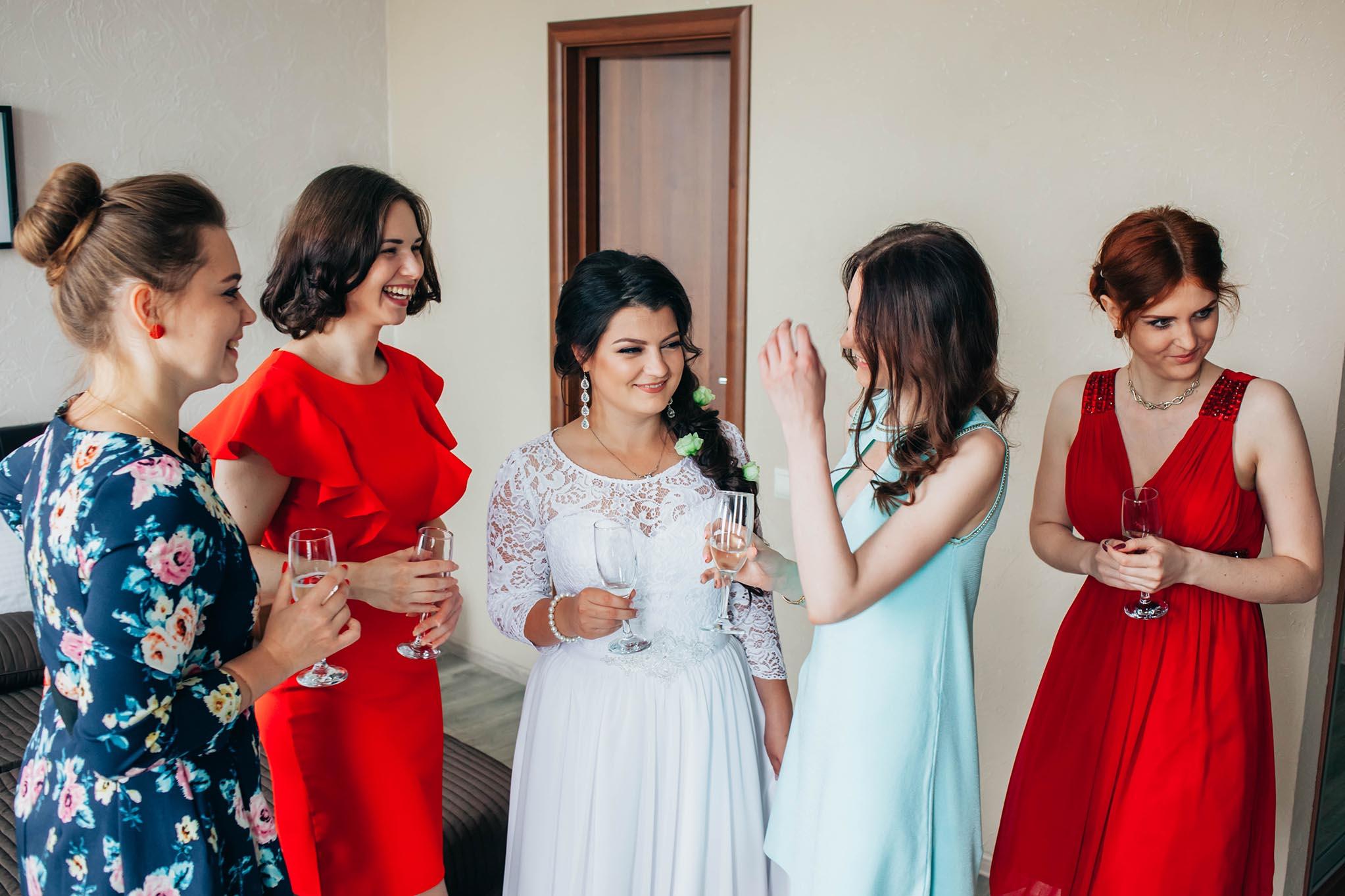 утренние сборы невесты Тамбов