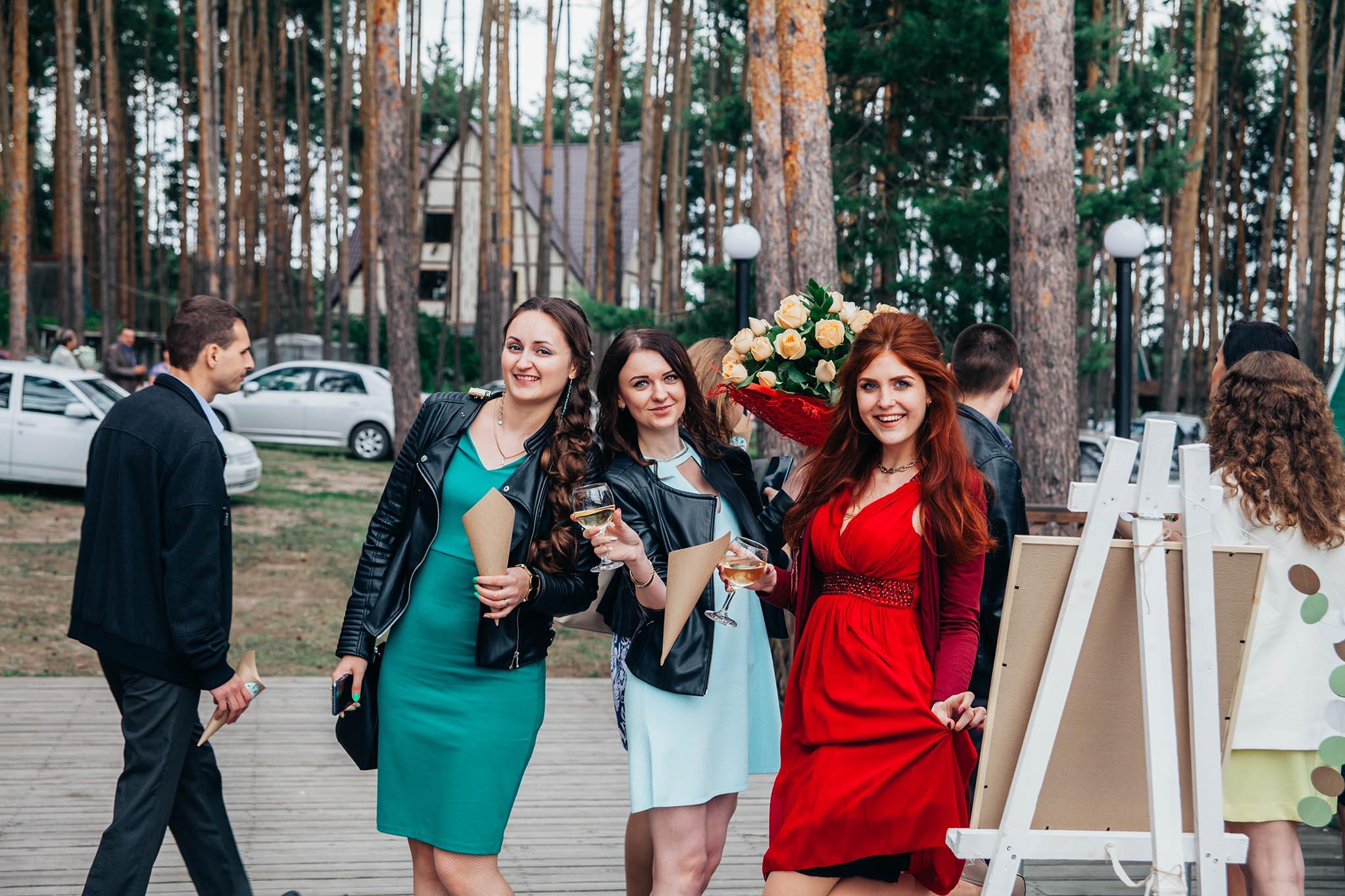 фотосъемка свадьба на природе