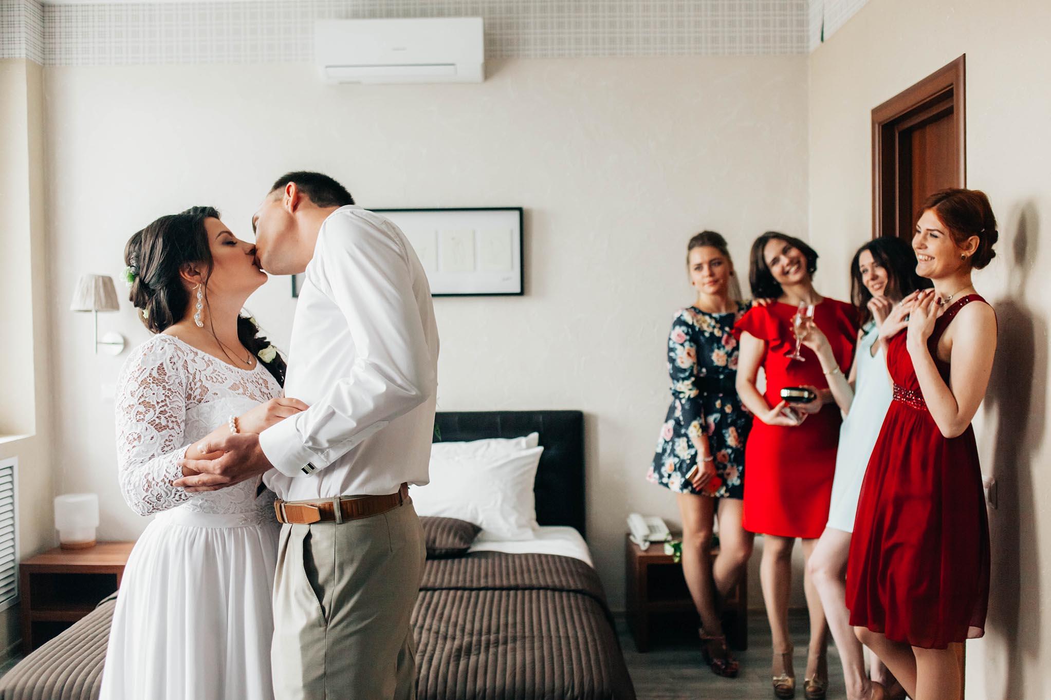 свадебное утро фото