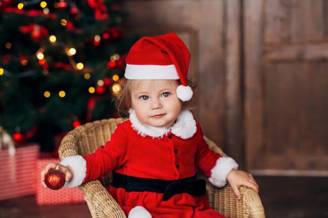 Детская Сказочная Новогодняя фотосессия