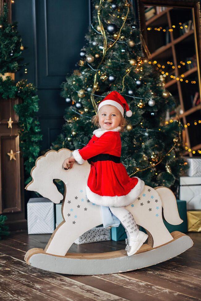 Детская зимняя Сказочная фотосессия