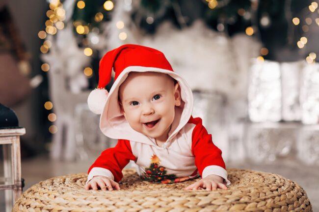 Детская Новогодняя фотосъемка