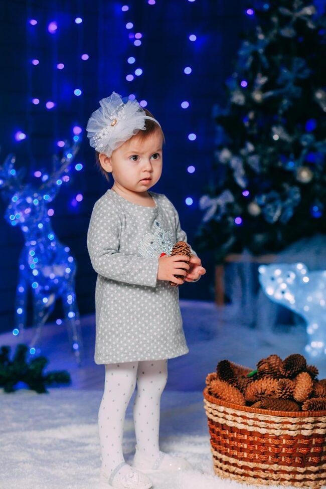 Идеи новогодних фото детей