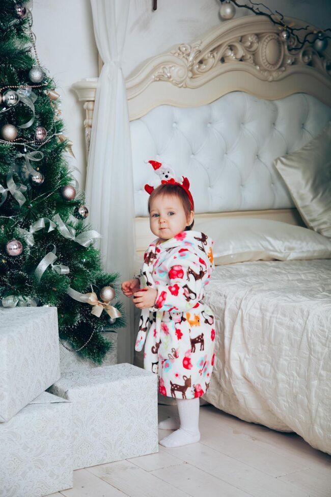 Новогодние фотографии детей
