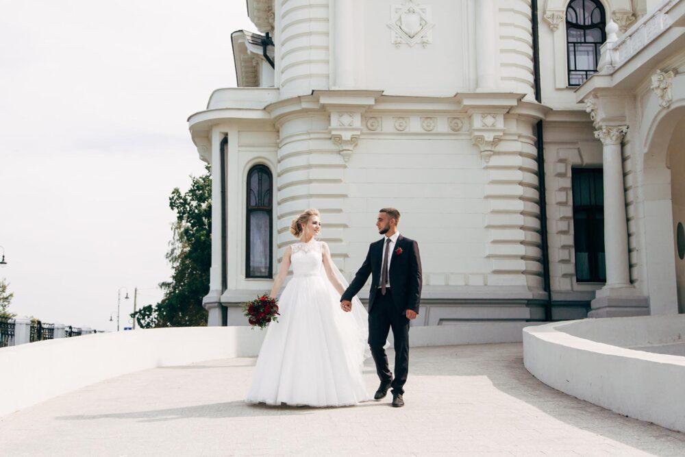 Свадебное фото. Дом купца Асеева Тамбов