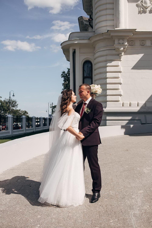 Дом Асеевых в Тамбове свадебное фото