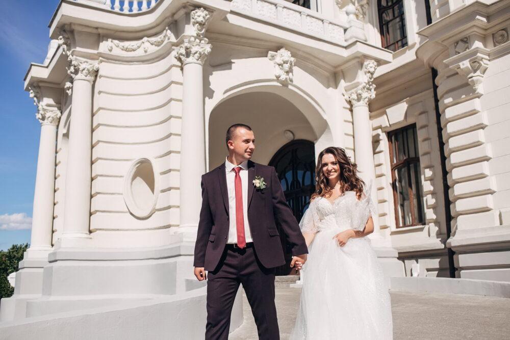 Свадебное фото в усадьбе Асеевых