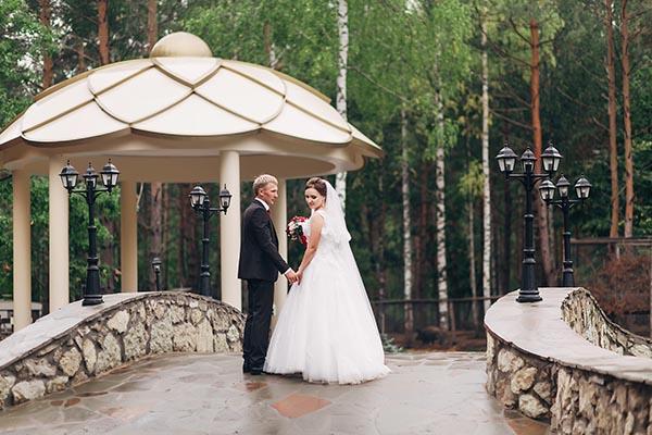 Места для фотосессии свадьбы, фото свадьбы в лесной сказке