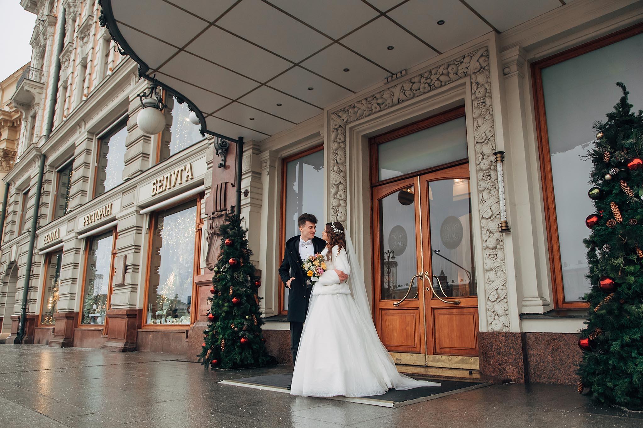 Отель Националь Москва фотосессия свадьбы