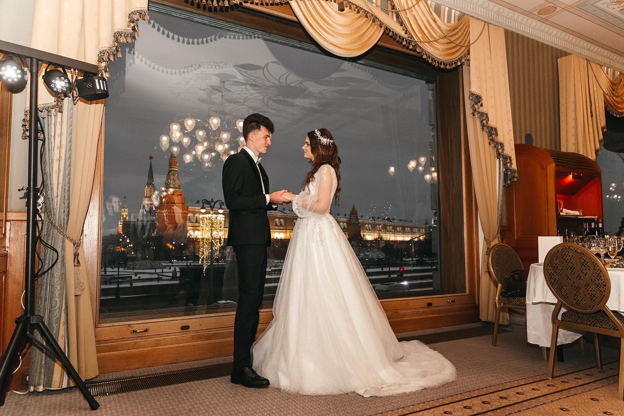 фотосъемка свадьбы в отеле Националь